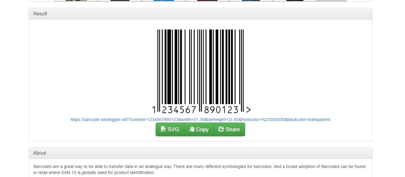 Javascript Qr Code Generator Svg